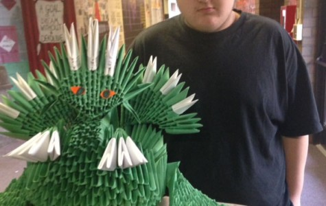 MHS student keeps origami alive