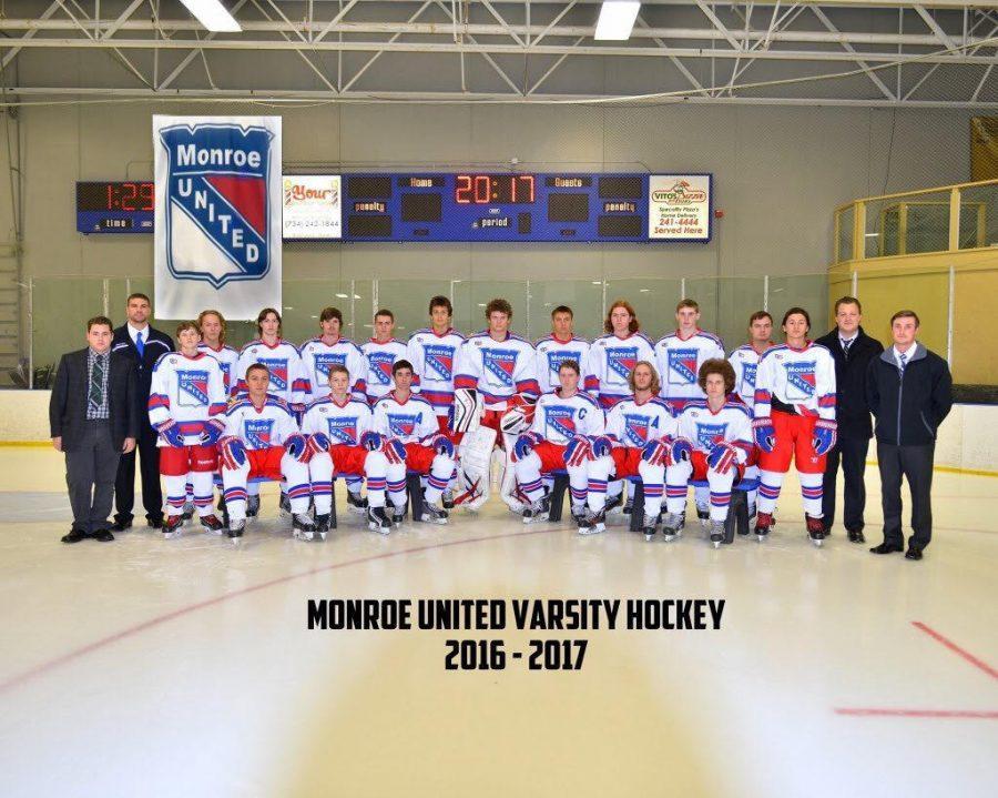 Monroe United hockey team discuss ongoing season