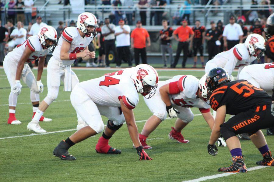 Varsity football dominates Tecumseh