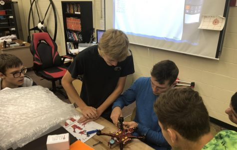 CTE program implements new electro-mechanical drone design course at MHS