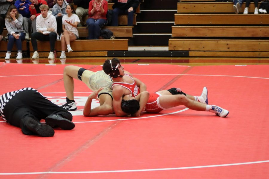 Wrestling team honors seniors, earns individual accolades
